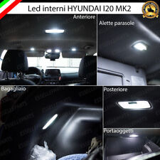 KIT FULL LED INTERNI HYUNDAI I20 MK2 CONVERSIONE COMPLETA 6000K NO AVARIA