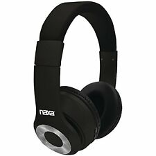 Naxa NE-965BLACK Ne-965 Black Backspin Bluetooth[r] Headphones (ne965black)