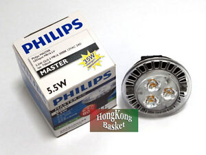 10pcs PHILIPS Master LED MR16 LV - GU5.3 3000K 12V 24/36D 5.5W (50W) Light Bulb