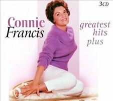 Greatest Hits Plus [Box] by Connie Francis (CD, Apr-2013, 3 Discs, Golden Stars (Netherlands))