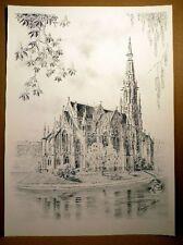 Kurt Hermann audaz (* 1926) - stuttgart-feuersee con la Evang. Johann iglesia