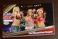 Velvet Sky Signed Beautiful People 2010 TRISTAR Impact TNA Card Knockout #49