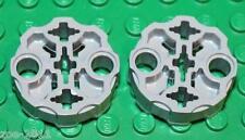 Lego 2x Technic Light Bluish Grey Weapon Barrel Hero Factory NEW!!!