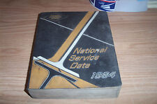 1964 NATIONAL AUTOMOTIVE SERVICE DATA MANUAL