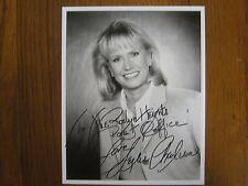 LESLIE CHARLESON (General Hospital/Dr. Quartermaine)Signed  8 X 10  B & W  Photo
