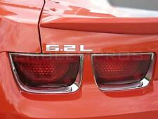 "Camaro ""6.2 L"" Emblem Mirror Stainless Steel"