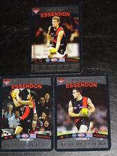 2010 Team Coach RARE Promo Set of 3 ESSENDON Cards