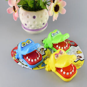 Bite Fingers Prank Toy Tricky Game Big Animal Bite Fingers Mouth Gifts for Kids