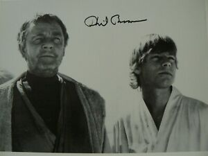 STAR WARS PHIL BROWN UNCLE OWEN SIGNED PHOTO COA