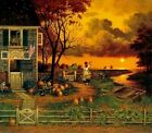 """Charles Wysocki Supper Call print S & N With Certificate Image Size: 20""""x17"""""""