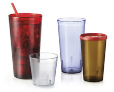 G.E.T. 6624-1-6-* 6 Dozen - 24 oz Plastic Tumbler - Available in 4 Colors