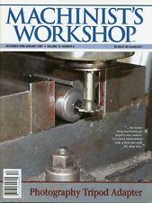Machinist's Workshop Magazine Dec 2006/Jan 2007 Photography Tripod Adapter