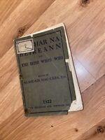 leabrhar na heireann the irish And Irish Who's Who  year book 1922 Rare Book