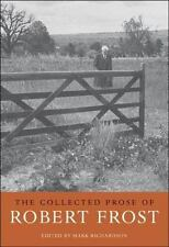 NEW HC Collected Prose of Robert Frost (Harvard, 2007)