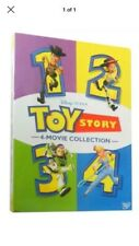 Toy Story 1-4 Box set. 4 Movie Dvd Collection. Brand New. Free Shipping.