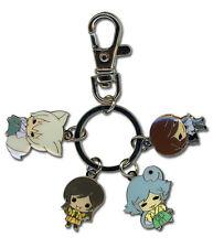 **Legit** Kamisama Kiss Metal Keychain SD Tomoe Nanami Mizuki & Kurama #36848