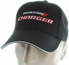 Dodge Charger RT Black Baseball Cap Trucker Hat Snapback SRT Mopar