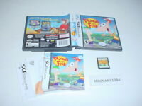 PHINEAS & FERB kids game complete in case w/ manual - Nintendo DS