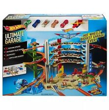 HOT WHEELS Ultimate Garage Play Set Inc 6 veicoli in Scatola NUOVO FREEPOST UK