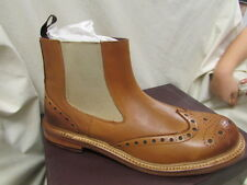 MENS ALL LEATHER BRUNSWICK CHELSEA BOOT SIZE 10
