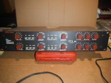 """FURMAN TX4 3/5 WAY TUNABLE CROSSOVER w/h BANDPASS FILTER - VINTAGE 19"""" RACK"""