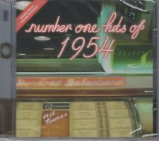 """Number 1 Hits Of 1954 """"Various Artists"""" NEW & SEALED CD 1st Class Post From UK"""