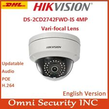 Hikvision DS-2CD2742FWD-IS 4MP WDR 2.7-12mm Vari-focal Dome Network Camera