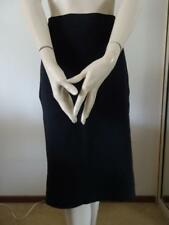 VERONIKA MAINE Black Viscose Pencil Stretch Skirt Sz L