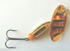 1 CUCCHIAINO MARTIN 9,0 GR PUNTINI ROSSI PESCA  SPINNING LURES TROTA FIUME  YM24