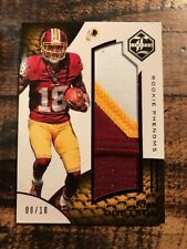 2016 Panini Limited JOSH DOCTSON ROOKIE PHENOMS 3 CLR PATCH  D  10 Redskins  SSP 6a9f2919f