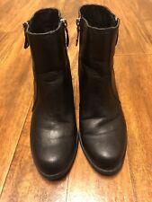 Simply Vera Vera Wang Moto Ankle Boots Women's size 8.5 M Black
