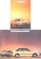 Mazda 323 Turbo 4x4 1986-87 Original UK Sales Brochure Pub. No. 4x4/10/30,000