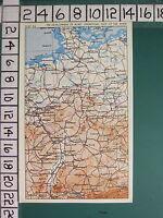 WW2 Landkarte ~ Entwicklung Von Allied Operations East Der Rhine Hamburg Hanover