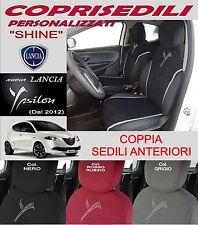 Coprisedili SHINE per LANCIA Y Ypsilon 2012 fodere auto ANTERIORI in MICROFIBRA