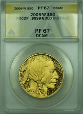 2006-W Gold $50 1 Oz. American Buffalo Coin ANACS Proof PR-67 DCAM