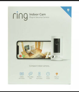 Ring Indoor Plug-In 1080p HD Motion-Activated 2-Way Security Camera