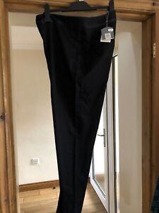 Ladies Black Trousers Oasis  Uk 16 BNWT £32