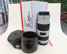 Canon EF 70–200mm f/4L IS USM Camera Lens - Mint Condition