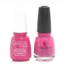 China Gelaze Nail Gel Polish + Matching Lacquer Rich & Famous #81641