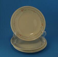 "6 Corelle Rose 6.75"" Bread & Butter / Salad / Dessert Plates"