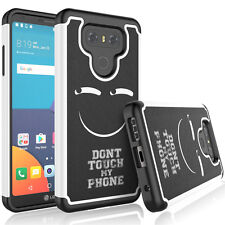 For LG G6 Phone Pattern Hybrid Shockproof Rubber Sturdy Dual Layer Case Cover