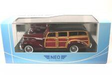 Packard 110 Deluxe Wagon (dark red/wooden optic) 1941