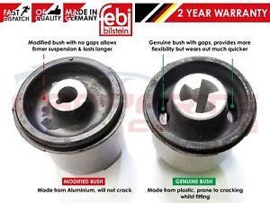 FOR AUDI A3 TT 1x REAR AXLE FEBI UPGRADED MODIFIED REAR MOUNT BUSH 1J0501541D