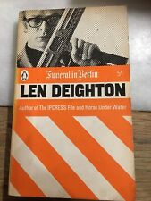 Len Deighton Funeral in Berlin 1966 Edition Penguin Book