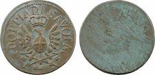 Italie, Savoie, poids monétaire uniface, DOPPIA SAVOIA - 11