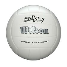 Wilson SoftPlay All Surface Recreational Volleyball Official Size White