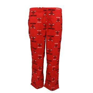 Chicago Bulls Official NBA Youth Kids Size Print All Over Pajama Pants New Tags