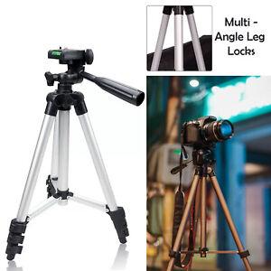Pro Camera Phone Tripod Stand For Digital Camcorder Holder Smartphone DSLR SLR