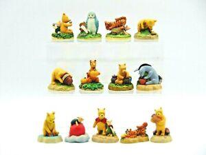 Large Lot of 13 Lenox Walt Disney 'Winne The Pooh' Plaster Characters (AP160R)