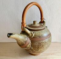 Studio Handcrafted Ceramic Stoneware Pottery Teapot